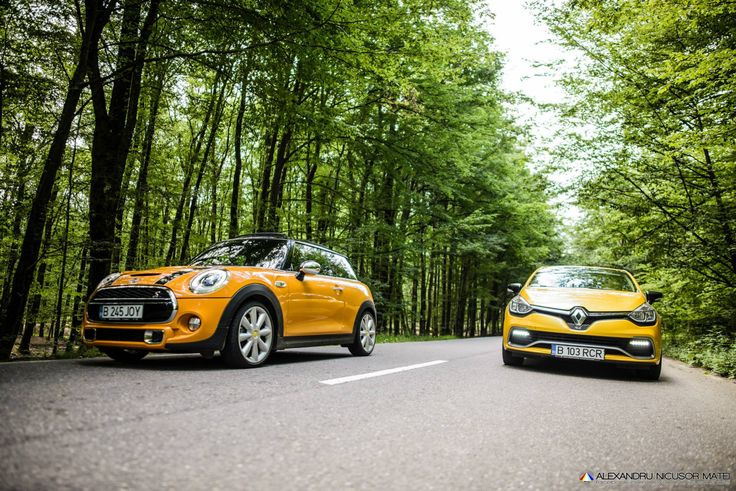 Test drive – Renault Clio RS vs. MINI Cooper S : http://auto23.ro/test-drive-renault-clio-rs-vs-mini-cooper-s/
