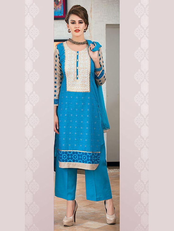 Kameez Salwar Bollywood Designer Pakistani Anarkali Dress Suit Ethnic Indian New #TanishiFashion