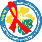 National Asian & Pacific Islander HIV/AIDS Awareness Day logo