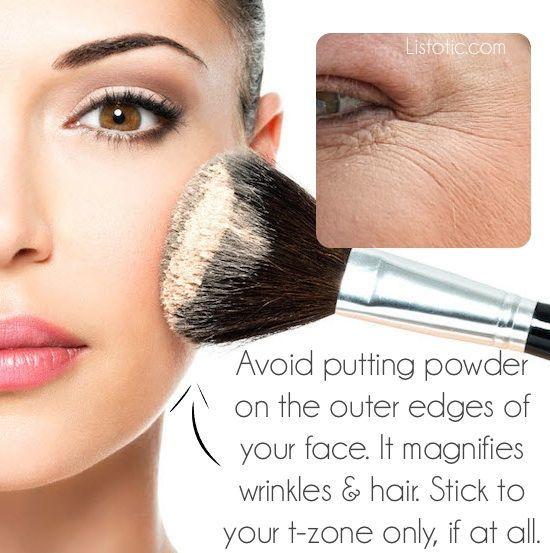 makeup mistakes 21
