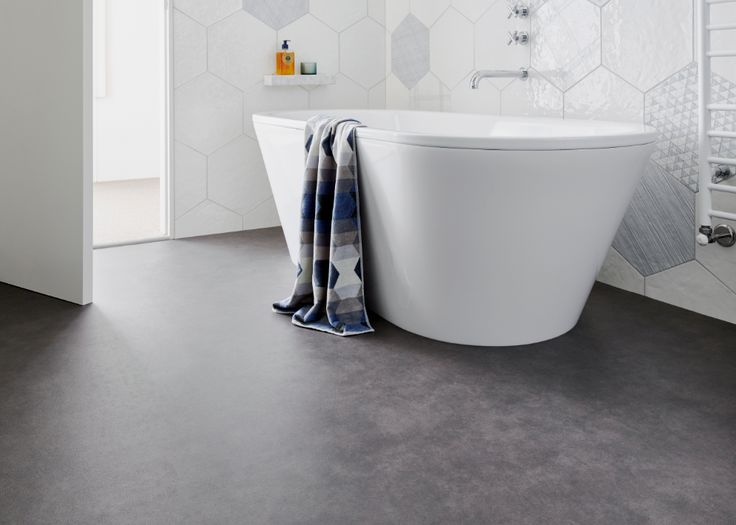 Provincial Lane Sheet Vinyl is the perfect bathroom flooring option for style conscious families