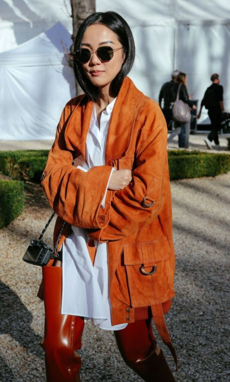 ♥️ Pinterest: DEBORAHPRAHA ♥️ See all of Phil Oh's best street style photos from Paris Fashion Week.