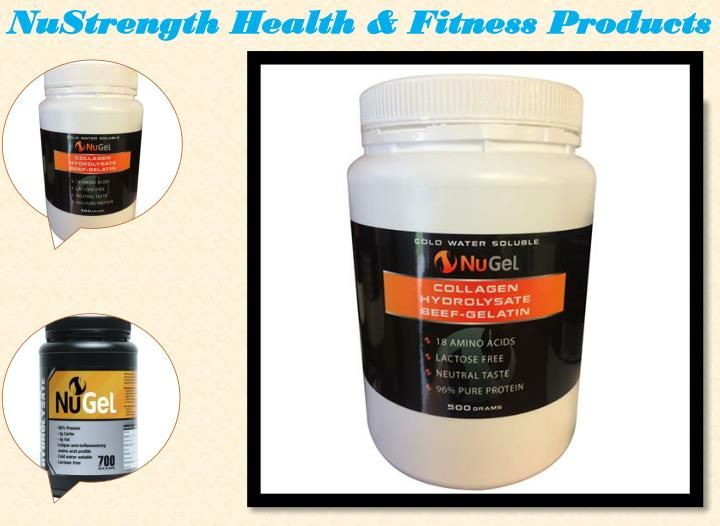 Gelatin Collagen Hydrolysate Beef is a product that is useful for many ways. This is a healthy product that has benefits of four healthy products.  https://nustrength.com.au/product/nugel-700g/