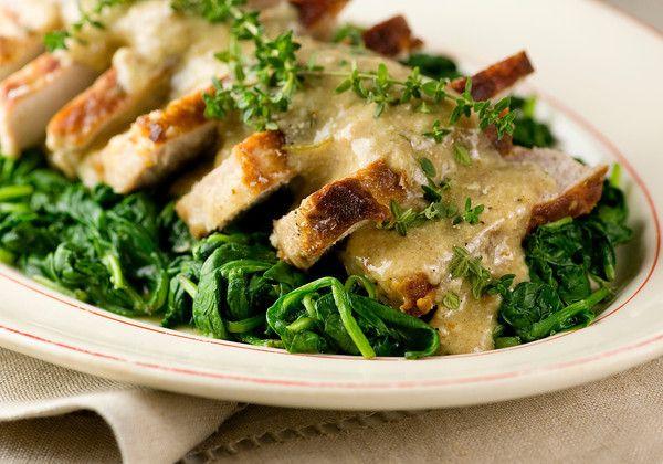Pork Chops in Milk Gravy | Recipe