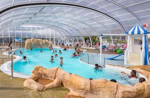 Camping La Baule avec parc aquatique et piscine couverte - Camping La Roseraie