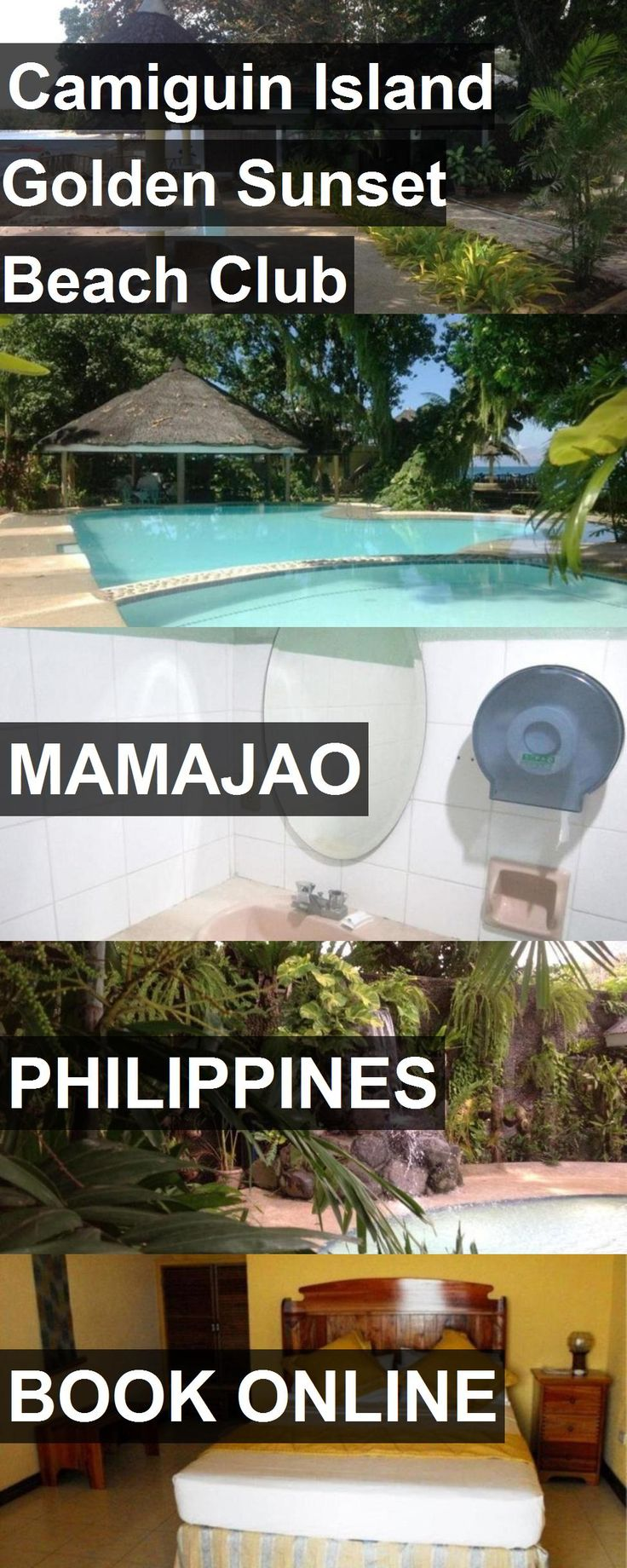 Hotel Camiguin Island Golden Sunset Beach Club in Mamajao, Philippines. For more information, photos, reviews and best prices please follow the link. #Philippines #Mamajao #travel #vacation #hotel