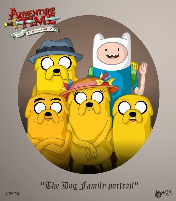 Jake Family #AdventureTime