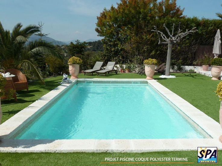 Les 25 meilleures id es concernant piscine coque sur for Cout installation piscine