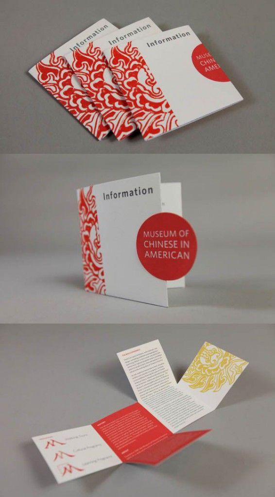 Mẫu brochure được thiết kế độc đáo