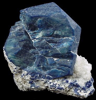 Sodalite Crystal A Rich Royal Blue Mineral Widely Enjoyed