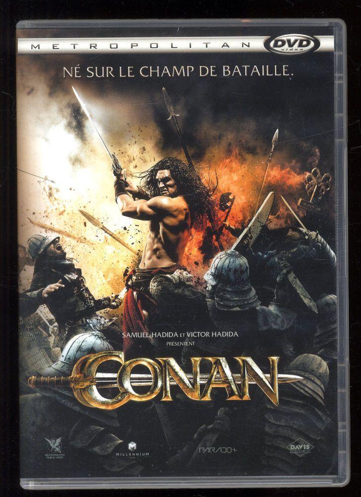 CONAN  Marcus NISPEL  d'après Robert E. HOWARD  Jason MOMOA   DVD ZONE 2