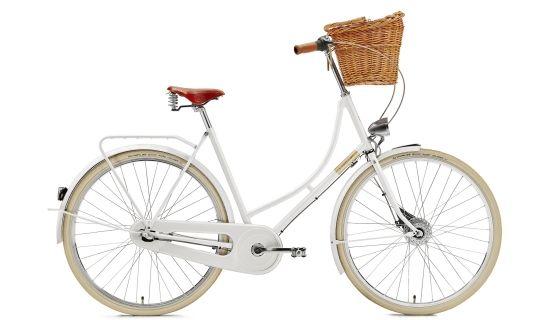 Creme Holymoly Doppio - Vélo hollandais Femme - Lady, 3-speed, dynamo blanc