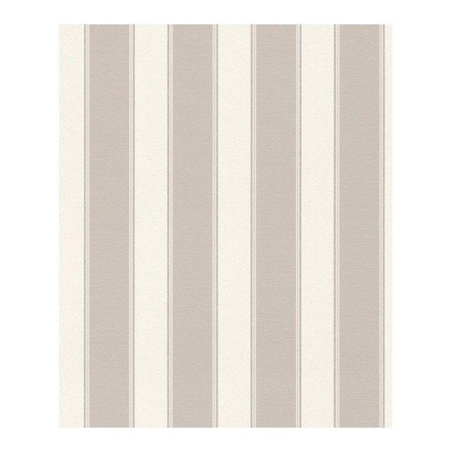 Tapeta winylowa na flizelinie stripes 933901 10 m beżowa