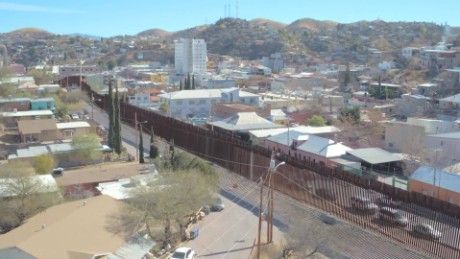 The US-Mexico border is 1,933 miles long, and already has 700 miles of fence running along it.