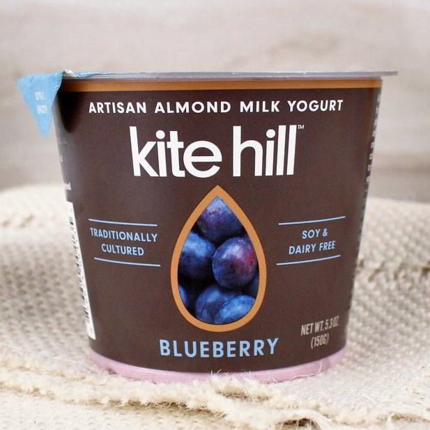 Kite Hill Organic Almond Milk Yogurt Blueberry