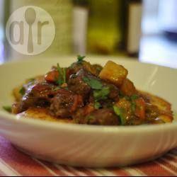 Foto recept: Stoofschotel met hertenvlees