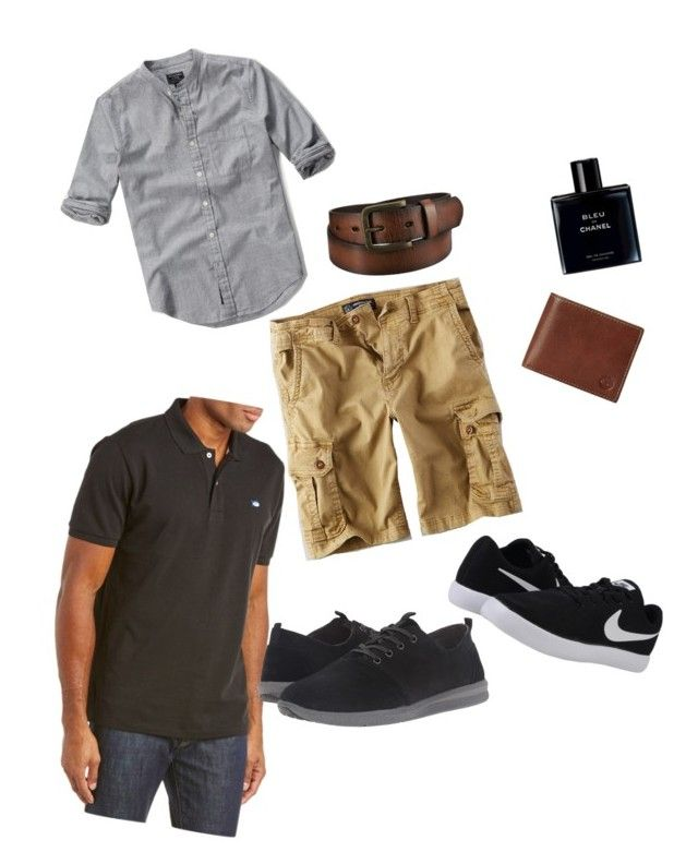 """""""Fit him casual but nice"""" by cheryl-leigh-allan on Polyvore featuring American Eagle Outfitters, Abercrombie & Fitch, Southern Tide, TOMS, Timberland, Uniqlo, Chanel, NIKE, men's fashion and menswear"""