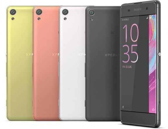 Sony Xperia XA ‐Android-puhelin, musta – Android – Puhelimet – Puhelimet – Verkkokauppa.com