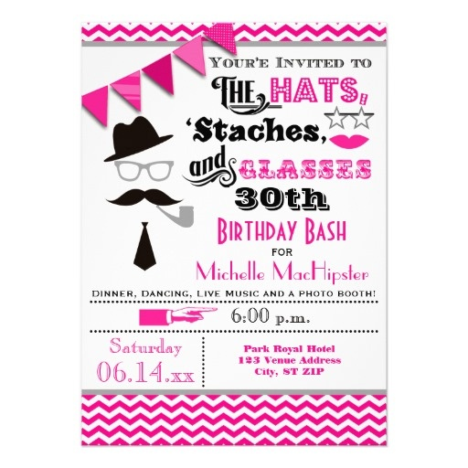 22 best finns 6th birthday hat stache bash images on pinterest hats mustaches and glasses 30th birthday invite stopboris Image collections