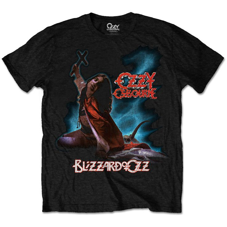 Ozzy Osbourne Men's Tee: Blizzard of Ozz Wholesale Ref:OZZTS01MB