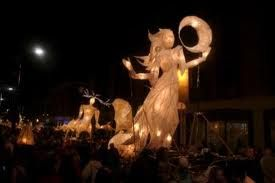 Truro City Of Lights Parade   Near Our Cornwall Holiday Cottages