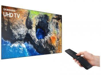"""Smart TV LED 55"""" Samsung 4K Ultra HD - 55MU6100 Conversor Digital Wi-Fi 3 HDMI 2 USB"""