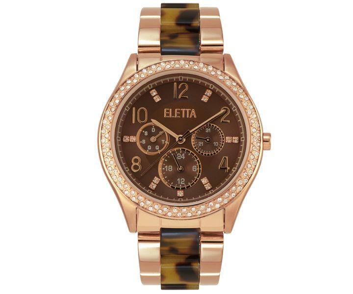 Relógio Eletta Glitz Rose - ELA430MCMR