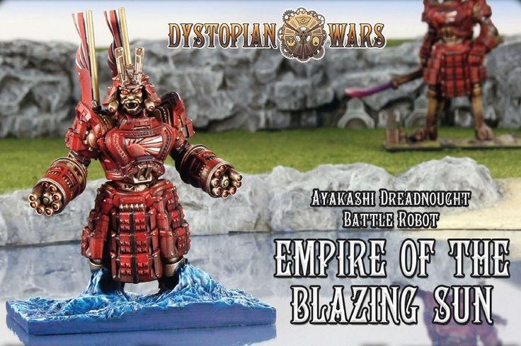 Empire of the Blazing Sun Ayakashi Dreadnought Battle Robot