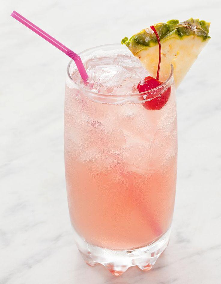 Wonderful Cocktail A Base De Cremant #12: Cocktail Rose Spritzer Au Vin Rosé