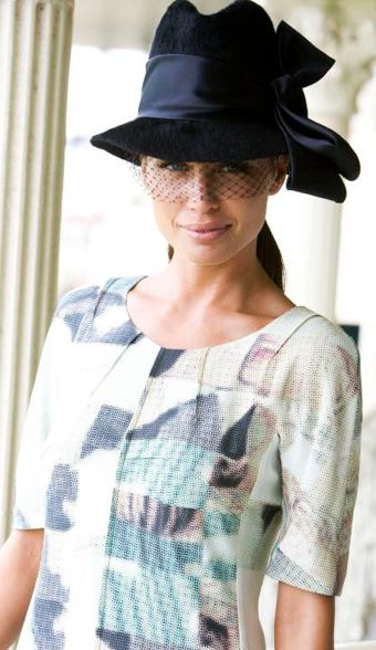 Jodi is wearing Lisa Ho & Nerida Winter. #passion4hats