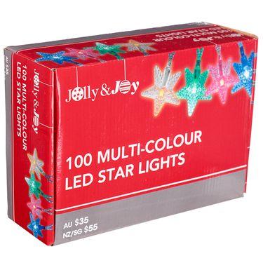 Jolly & Joy Star Static Lights Multicoloured   Spotlight Australia