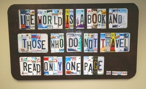 The #world is a #book...#travel #quote