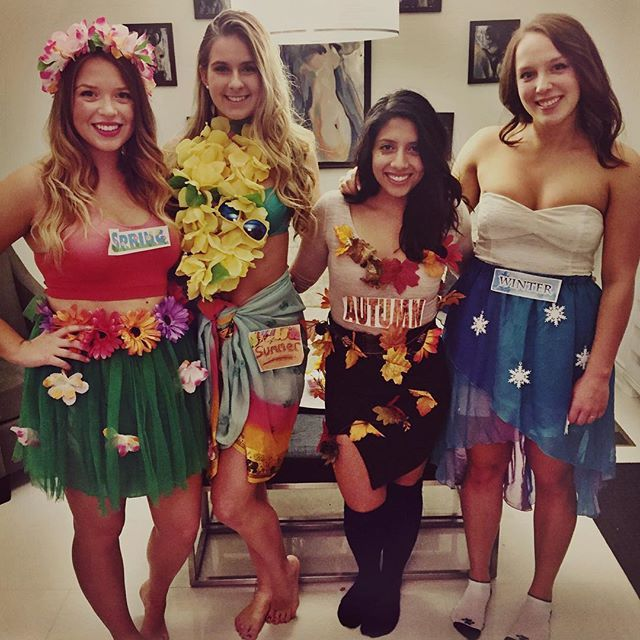 15 Group Costumes You Can Put Together FAST 4 Seasons