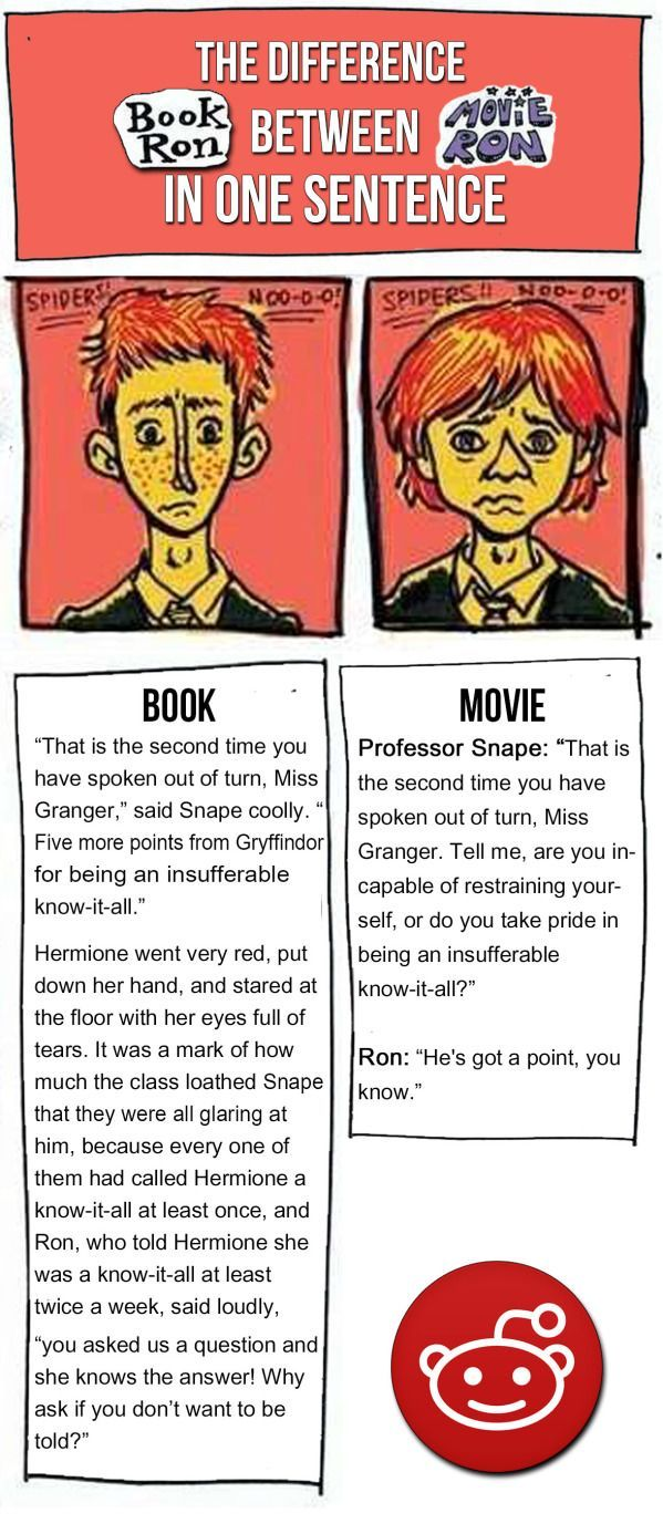Harry Potter Book Vs Movie Differences : And more examples of how much better the books are at