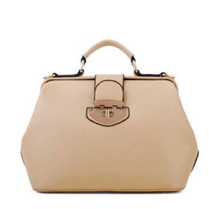 20 Colors New Leather Designer Fashion Women's Totes Satchel Shoulder Doctor Bag #Others #ShoulderBag