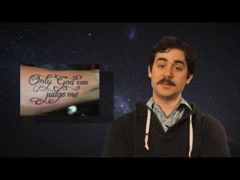 ▶ Top 10 Worst Inspirational Tattoos - The Cool Drugs Show - YouTube