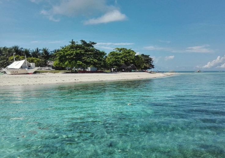 Tropical paradise in Pamilacan, Philippines