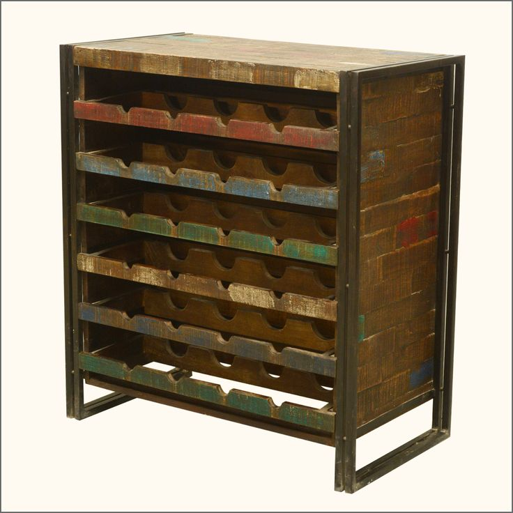 33 Best Images About Handcrafted Wine Racks Storage On