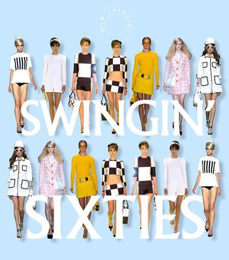 Sixties fashions #dressmaking #calicolaine