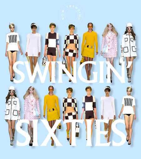 Sixties fashions #dressmaking #calicolaine