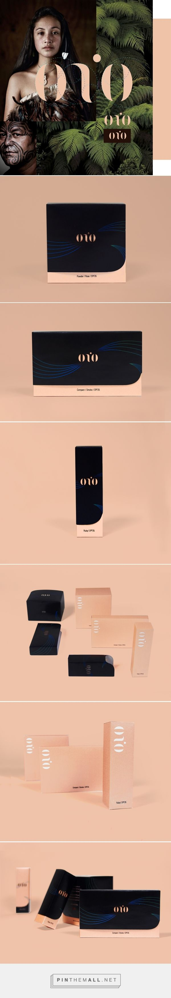 Onio Cosmetic Packaging on Behance | Fivestar Branding – Design and Branding Agency & Inspiration Gallery