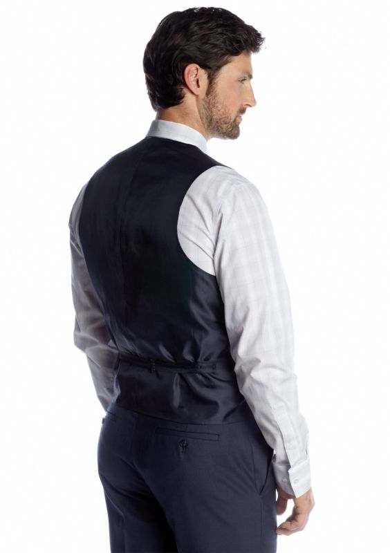 Slim Fit  Suit Separate Vest