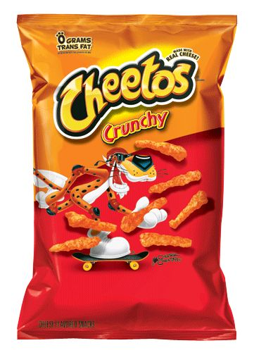 Oh how I love thee Crunchy Cheeto's, why do you not appear on the supermarket shelves in the UK, I miss you :)