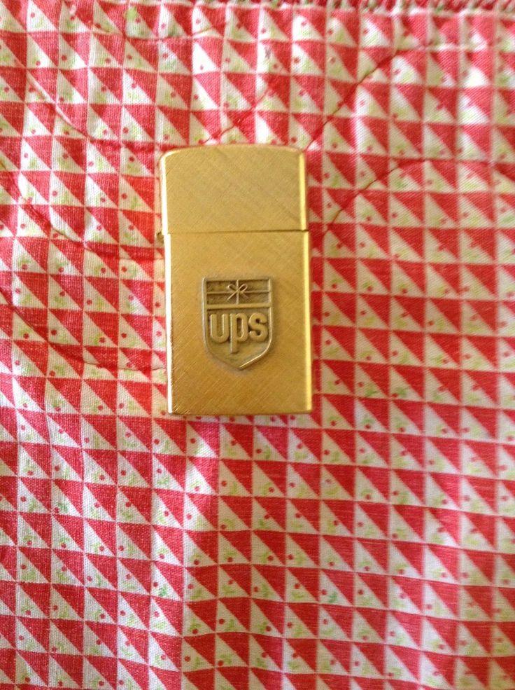 United Parcel Service Ups Barlow Cigarette Lighter 70's Rare
