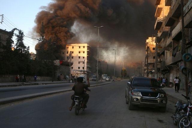 Les rebelles pris au piège dans la ville d'Alep