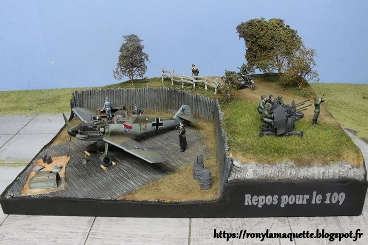 13 Best Ww2 Airfield Diorama Images On Pinterest Diorama