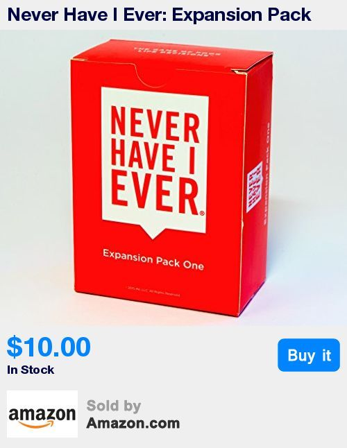 Relive more of life's funny, embarrassing, and awkward moments with your family and friends by purchasing Expansion Pack One * The first official expansion pack for Never Have I Ever, the Game of Poor Life Decisions * Don't buy this if you don't have the original game: it's pointless * Includes 97 Cards (77 Blue Play Cards and 20 Red Rule Cards) * Includes 15 Additional Cards (10 Blank Play Cards and 5 Blank Rule Cards)