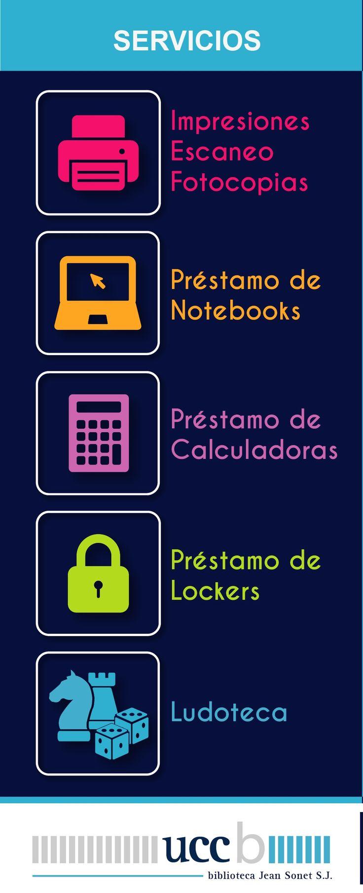 +Servicios en la biblio #Servicios #Bibliotecas