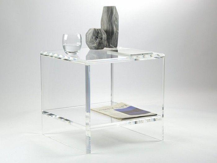 """Acrylic Side Table """"Victoria"""" Acryl Möbel, Design Möbel. Inspiration fürs Wohnen."""
