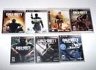 PS3 Game LOT Call of Duty Black Ops II III Ghosts Adv Warfare Sony PlayStation 3